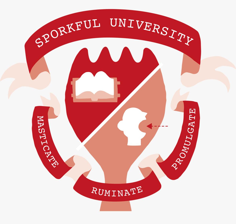 sporkful university seal