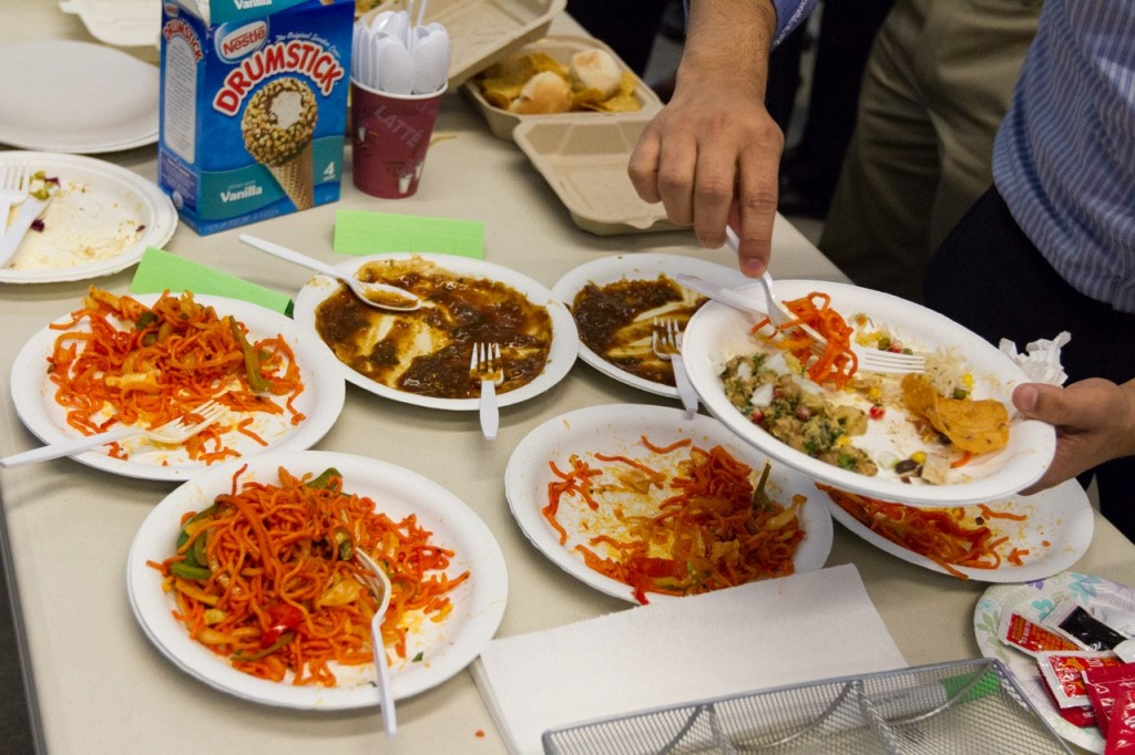 The office potluck is dead long live the office potluck for Andys chinese cuisine